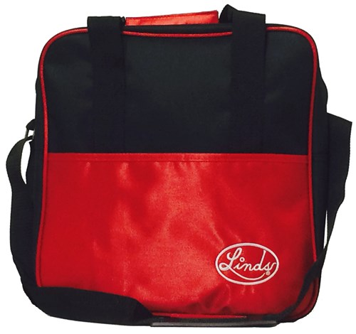 Linds Basic Single Tote Blk/Red Main Image