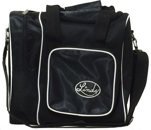 Linds Deluxe Single Tote Blk/Black Main Image