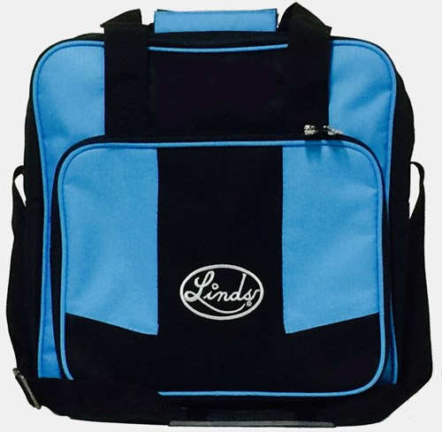 Linds Laser Basic Single Tote Black/Blue Main Image