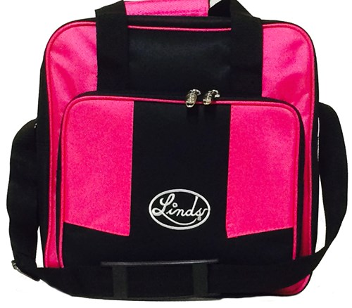 Linds Laser Basic Single Tote Black/Hot Pink Main Image