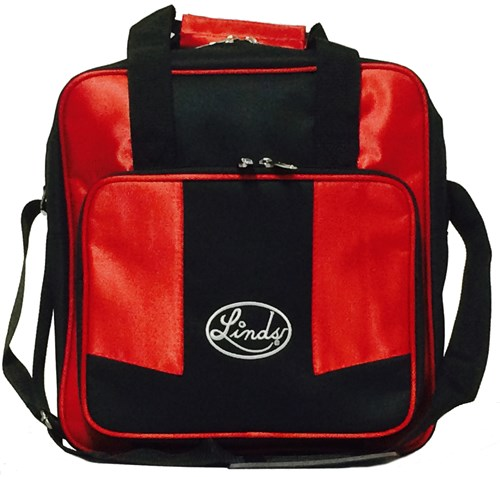 Linds Laser Basic Single Tote Black/Red Main Image