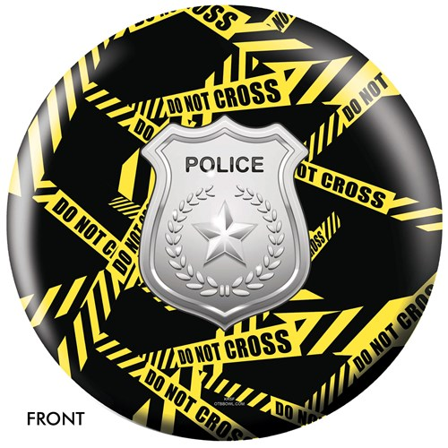 OnTheBallBowling Police Dept Yellow Tape Main Image