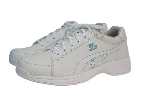 3G Womens Sneaks White/Blue Right Hand Main Image