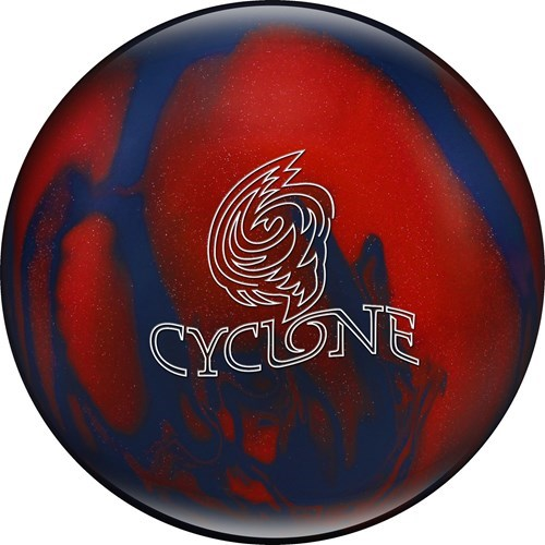 Ebonite Cyclone Blue/Red Sparkle X-OUT Main Image