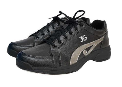 3G Unisex Sneaks Black/Gray Right Hand Main Image