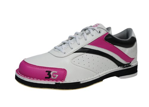 3G Womens Classic Pro White/Pink/Black Left Hand Main Image