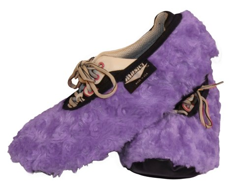 Master Ladies Shoe Covers Fuzzy Lavender Main Image