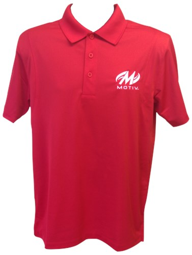 Motiv Mens Zenith Polo Red/White Main Image