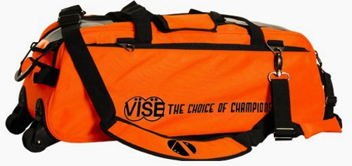 Vise 3 Ball Clear Top Roller/Tote Orange Main Image