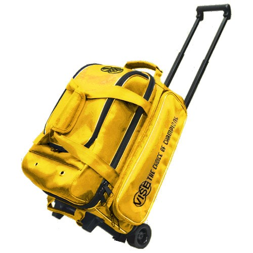 Vise 2 Ball Economy Roller Yellow Main Image