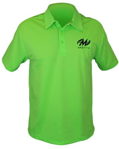 Motiv Mens Hypershock Polo Green Main Image