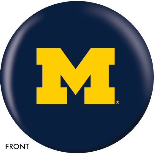 OnTheBallBowling University of Michigan Wolverines Main Image