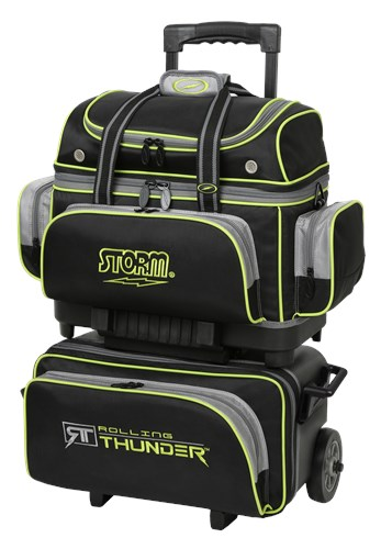 Storm Rolling Thunder 4 Ball Roller Black/Grey/Lime Main Image
