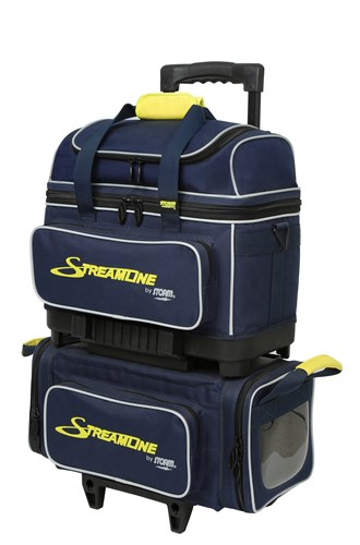 Storm Streamline 4 Ball Roller Navy/Grey/Yellow Main Image