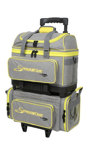 Storm Streamline 4 Ball Roller Grey/Black/Yellow Main Image
