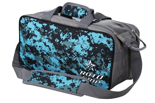 Roto Grip 2 Ball Tote Grey/Blue Camo Main Image