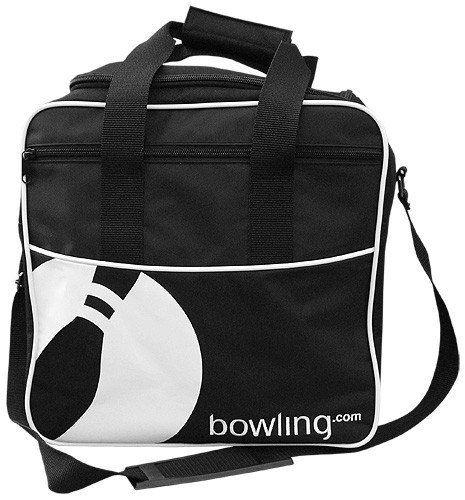 Bowling.com Single Tote Black/White NEW Main Image