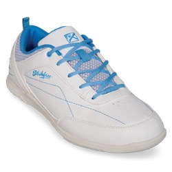 KR Strikeforce Womens Capri Lite White/Blue Main Image