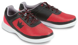 Brunswick Mens Frenzy Black/Red Wide Width Main Image