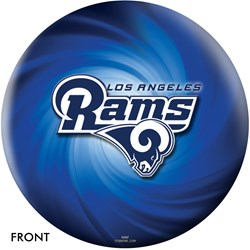 KR Strikeforce Los Angeles Rams NFL Ball Main Image