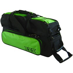 Tenth Frame Triple Tote/Roller Plus Black/Lime Main Image
