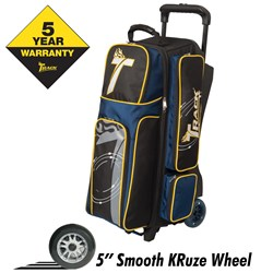 Track Premium Triple Roller Black/Navy/Yellow Main Image