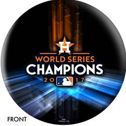 OnTheBallBowling MLB Houston Astros 2017 World Series Champions Main Image