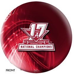 OnTheBallBowling 2017 NCAA National Champions Alabama Ball Main Image