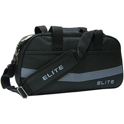 Elite 2 Go Tote Clear Top Black/Grey Bowling Bag Main Image