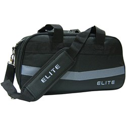 Elite 2 Go Tote Clear Top Plus Black/Grey Bowling Bag Main Image
