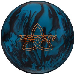 Ebonite Destiny Solid Blue/Black Main Image