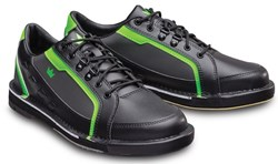 Brunswick Mens Punisher Right Hand Black/Neon Green Main Image