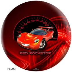 OnTheBallBowling Red Rocketor Ball Main Image
