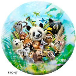 OnTheBallBowling Zoo Friends Ball Main Image