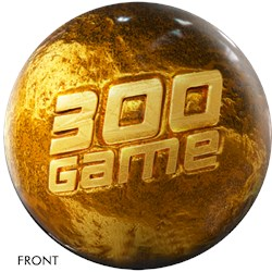 OnTheBallBowling 300 Game Gold Award Ball Main Image