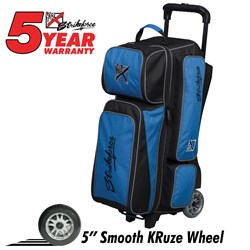 KR Strikeforce Krush Triple Roller Blue/Black Main Image