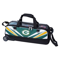KR Strikeforce NFL Slim Triple Roller Green Bay Packers Main Image