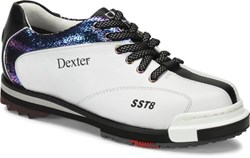 Dexter Womens SST 8 Pro White/Crackle Wide Right Hand or Left Hand Main Image