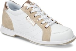 Dexter Womens Groove IV White/Rose Gold Wide Main Image