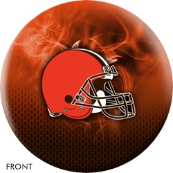 KR Strikeforce NFL on Fire Cleveland Browns Ball Main Image
