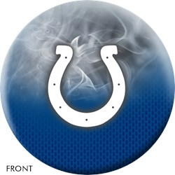 KR Strikeforce NFL on Fire Indianapolis Colts Ball Main Image