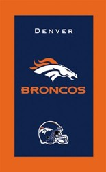 KR Strikeforce NFL Towel Denver Broncos Main Image