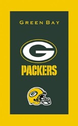 KR Strikeforce NFL Towel Green Bay Packers Main Image