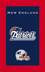 KR Strikeforce NFL Towel New England Patriots Main Image
