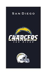 KR Strikeforce NFL Towel San Diego Chargers Main Image