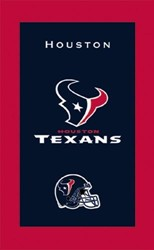 KR Strikeforce NFL Towel Houston Texans Main Image