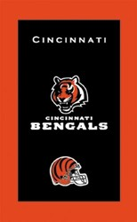 KR Strikeforce NFL Towel Cincinnati Bengals Main Image