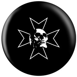 OnTheBallBowling Skull Iron Cross Main Image