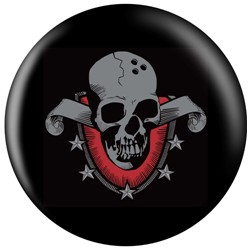 OnTheBallBowling Skull Shield Main Image