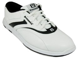 Brunswick Womens Silk White/Black Main Image